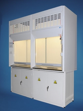 DUCTED K8 DOUBLE FRONTED FUME CUPBOARDS