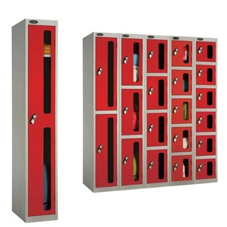 Anti Theft Vision Panel Lockers