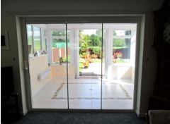 Bespoke Slide and Fold Internal Room Dividers