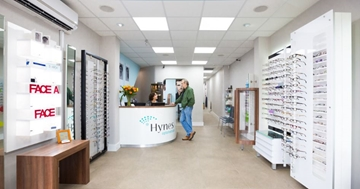 Retail Display Equipment For Optometrists