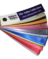 Satin Collection Ribbon Colour Swatch