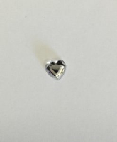 Crystal Heart Self Adhesive 6mm Clear pack 100