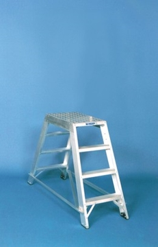 Fixed Double Sided Platform Steps DPD