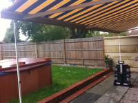 Awnings Support legs
