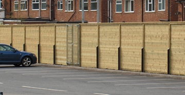 Acoustic Security Fencing Barriers