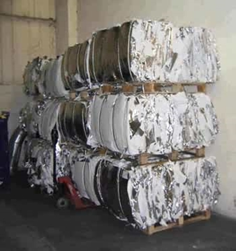 Collection Of Plastic Bales