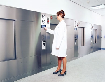 Touchclave System Rectangular Autoclaves
