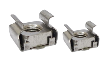 Cage Nuts, Stainless Steel
