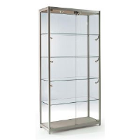 Aluminium Cabinets With Lights For Corporate Showrooms