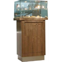 Glass Uv Bonded Pedestals For Car Dealers