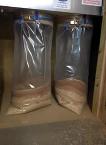 Extractor Bags for Wood Chips