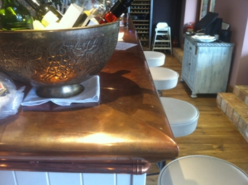 Copper Worktops Manufacturing Specialists