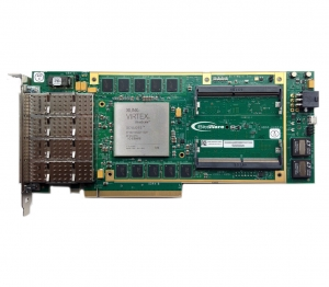 XUSP3S Xilinx UltraScale 3/4-Length PCIe Board with Quad