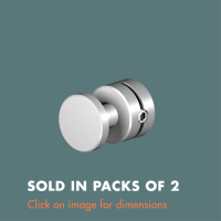 15.23 Panel Support (sold in packs of 2) Satin Anodised Aluminium