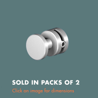 3.23 Panel Support (sold in packs of 2) Mirror Polished Stainless Steel