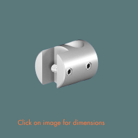 R.6(12) Single Sided Panel Grip Satin Polished Stainless Steel