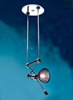 TZ.18 Disc Pendant Lamp with Multipoise Head (includes lamp)