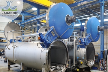 Lagarde Autoclaves and Retorts