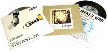 CD Printing - Clear Plastic Wallets (without insert)