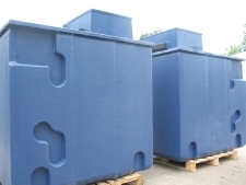 Pre-Insulated GRP One Piece Water Tanks