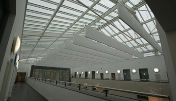 Acoustic Baffles and Rafts To Control Reverberation