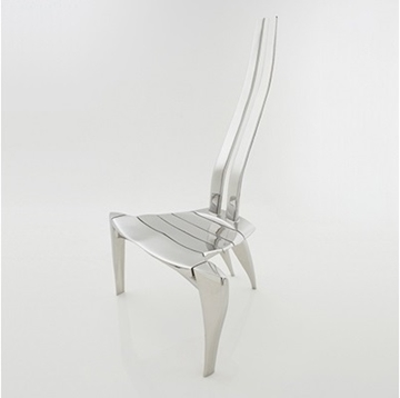 Mirror Polished Chair