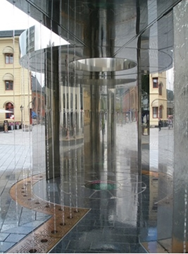 Mirror Polished Building Interiors