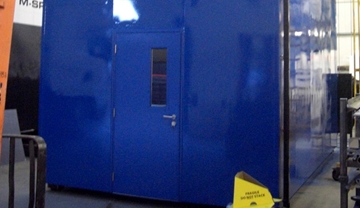 Dropover Noise Tight Plant Rooms