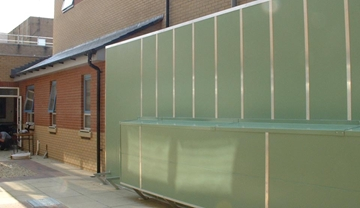 Sound Absorbing Screens And Barriers