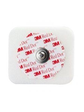 3M Red Dot Multi-purpose ECG Monitoring Electrodes With Sticky Gel Adult [50]