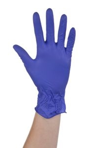 Ansell Microtouch Nitrile P/F N/S Gloves Medium [Pack of 100]