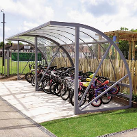 Bi-Store Cycle Shelter
