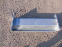 3Ft Galvanised Pig Feed Trough *Damaged Clearance