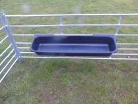 4Ft Hook Over Plastic Feed Trough