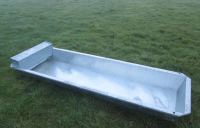 4Ft(1.50M)Galvanised Pig Wallow Trough