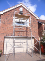4X4Ft Heavy Duty Scaffold Tower Complete Kit Free Delivery