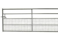 Half Meshed Field Gate 12Ft