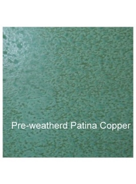 Weathered Green Copper Sheet