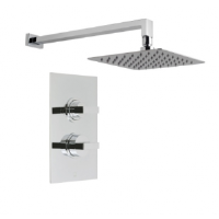 Gallini Thermostatic Shower With Head And Arm
