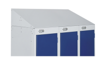 Retro fitted Sloping Tops for Standard Lockers - 300w x 300d mm