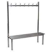 Stainless Steel Cloakroom Seating