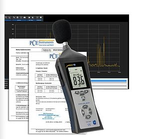 LEQ Calculation Certificate Noise Data Logger