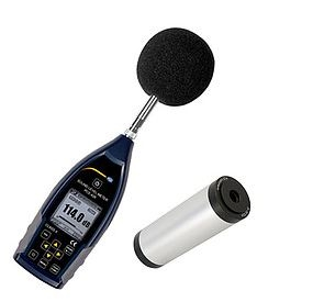 High-Accuracy sound level meter With a LED Screen