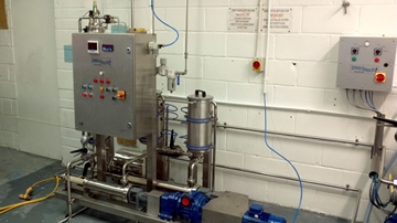Continuous Flow Carbonated Mixers