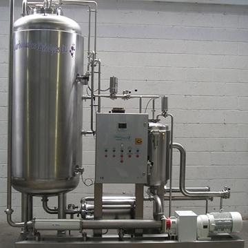 Soft Drink Automatic Carbonation Systems