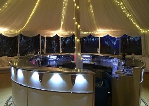 Temporary Luxury Wedding Bar Services