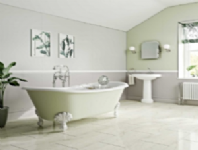 Multi-Panel Wetwall For Bathrooms