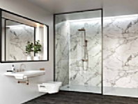 Multi-Panel Wetwall For Showers