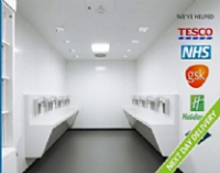 Hygienic Wall Cladding For Airports
