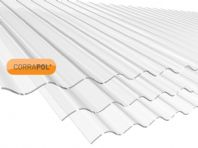 Unbreakable Corrugated Clear Polycarb Sheet